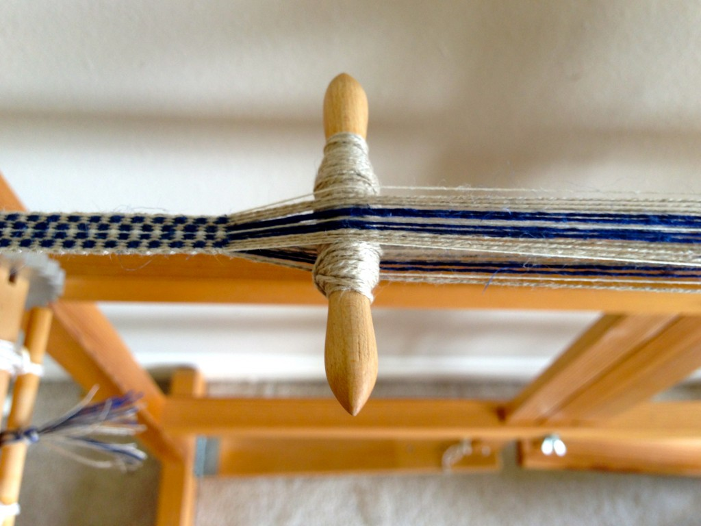Glimakra Band Loom with hand-carved shuttle