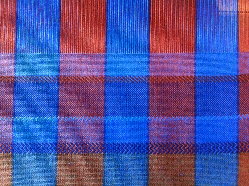 Twill pattern cottolin towel warp