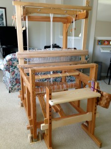 Re-sized Glimakra Ideal loom