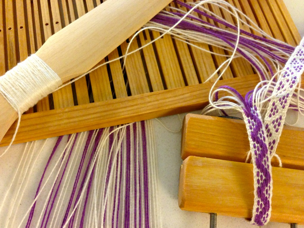 Rigid Heddle Band Weaving