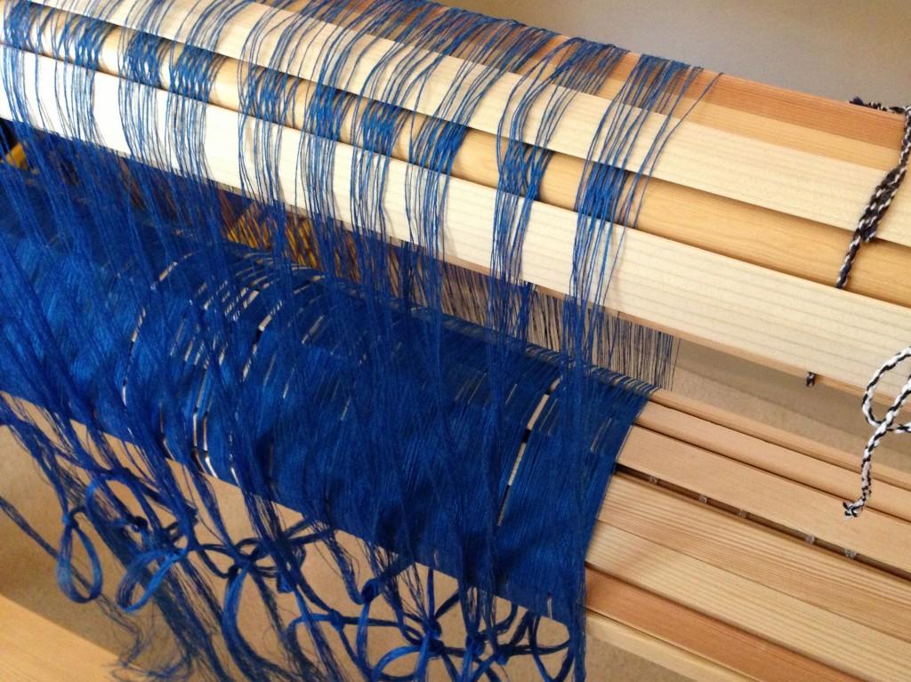 Linen singles warp.