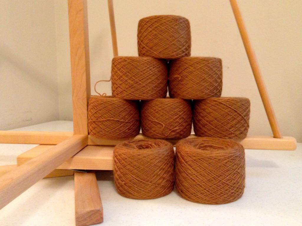 65% Alpaca 35% Tencel yarn