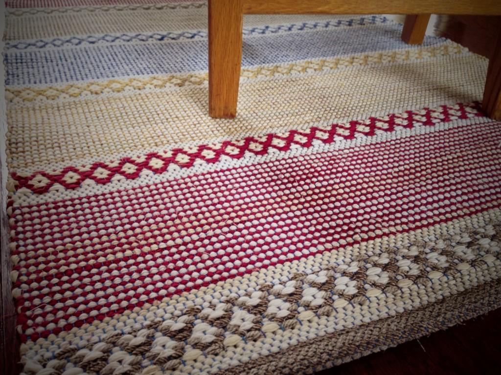 Rosepath rag rug. Karen Isenhower