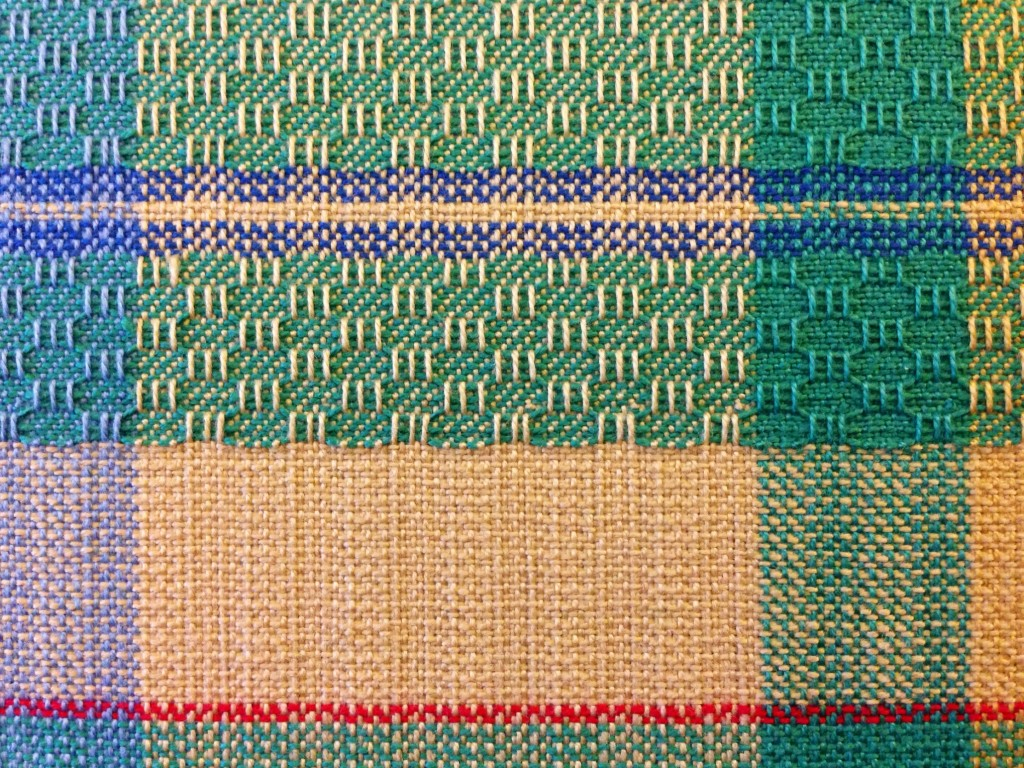 Beginning of another towel on the loom.
