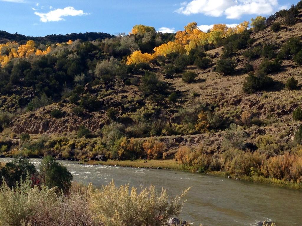 Rio Grande River in New Mexico.