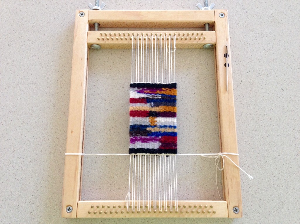 Mini tapestry sampler.