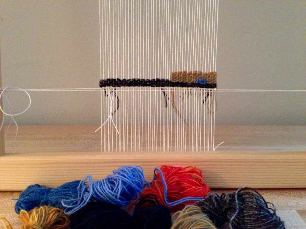 Day one of Tapestry Diary 2015