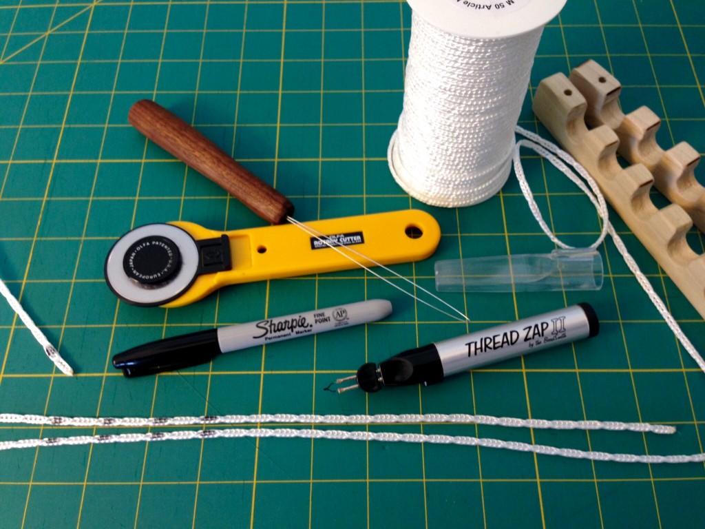 Tips for preparing Texsolv cord.