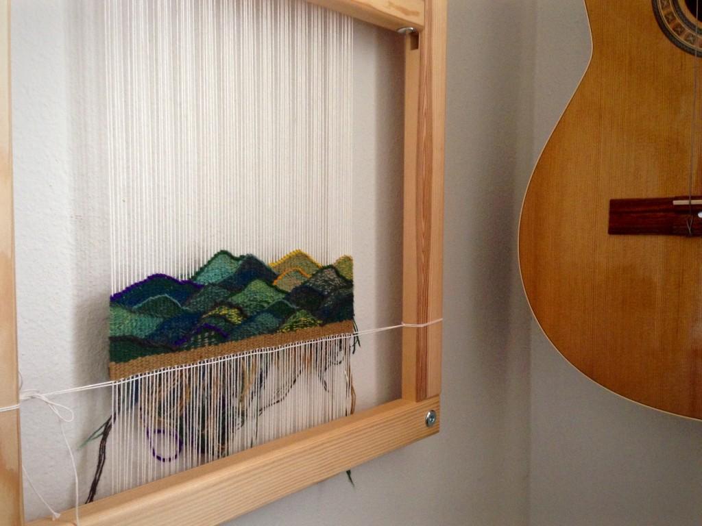 Small tapestry diary progress. Karen Isenhower