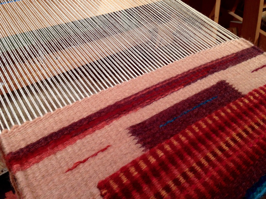 Tapestry class at Weaving Southwest