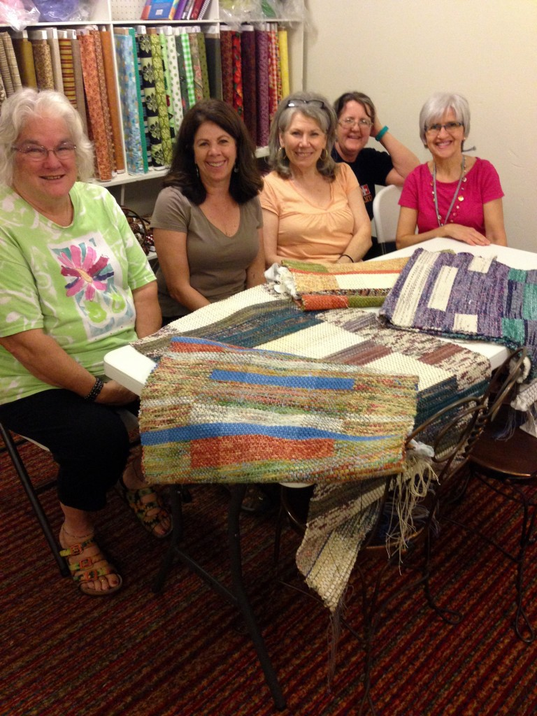 Double binding rag rug workshop - Karen Isenhower