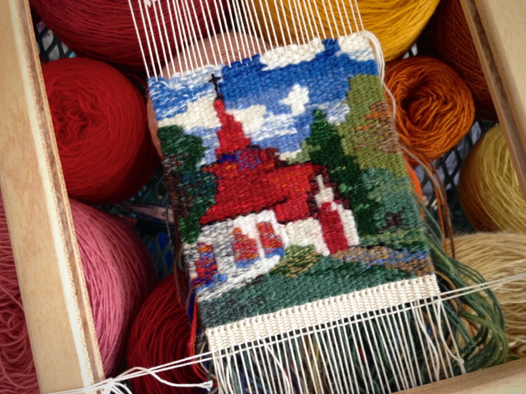 Small tapestry chapel. Karen Isenhower