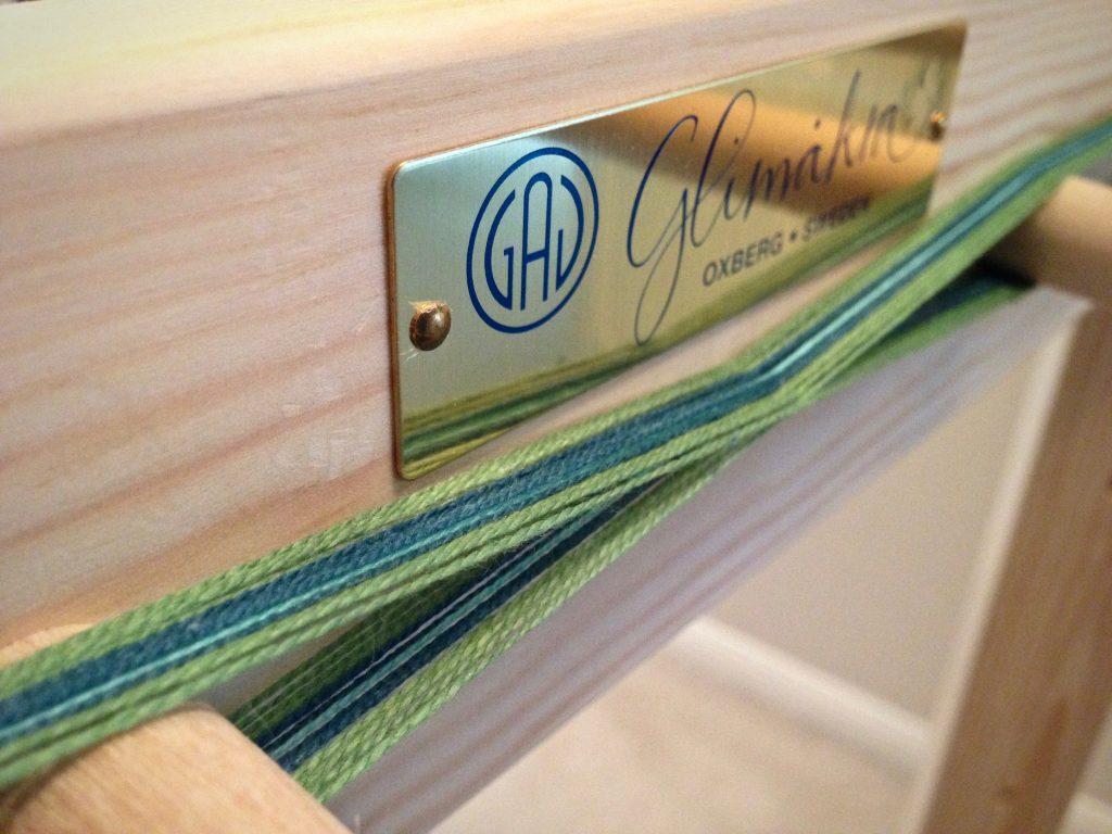 Band loom warp.