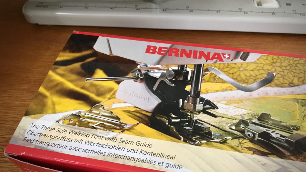 Bernina Walking Foot - good investment!