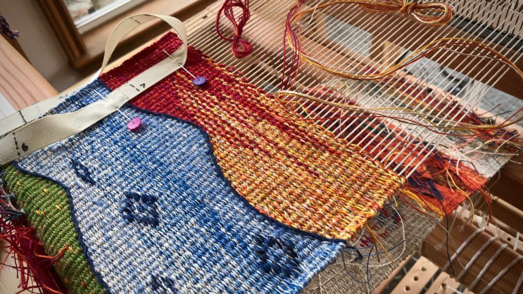 All-linen tapestry/inlay sampler.