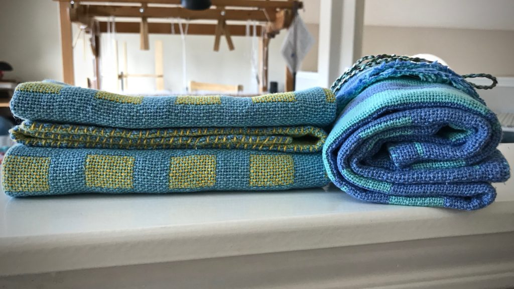 Handwoven baby blankets super soft for baby's skin.