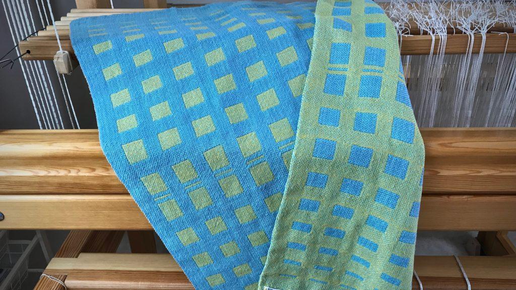 Double weave baby blanket.