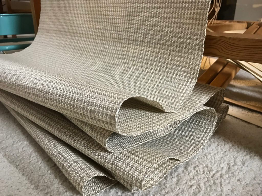 New linen fabric.