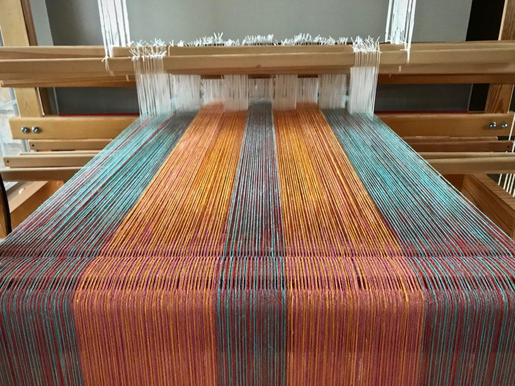 Glimakra Standard with twelve-shaft double weave.