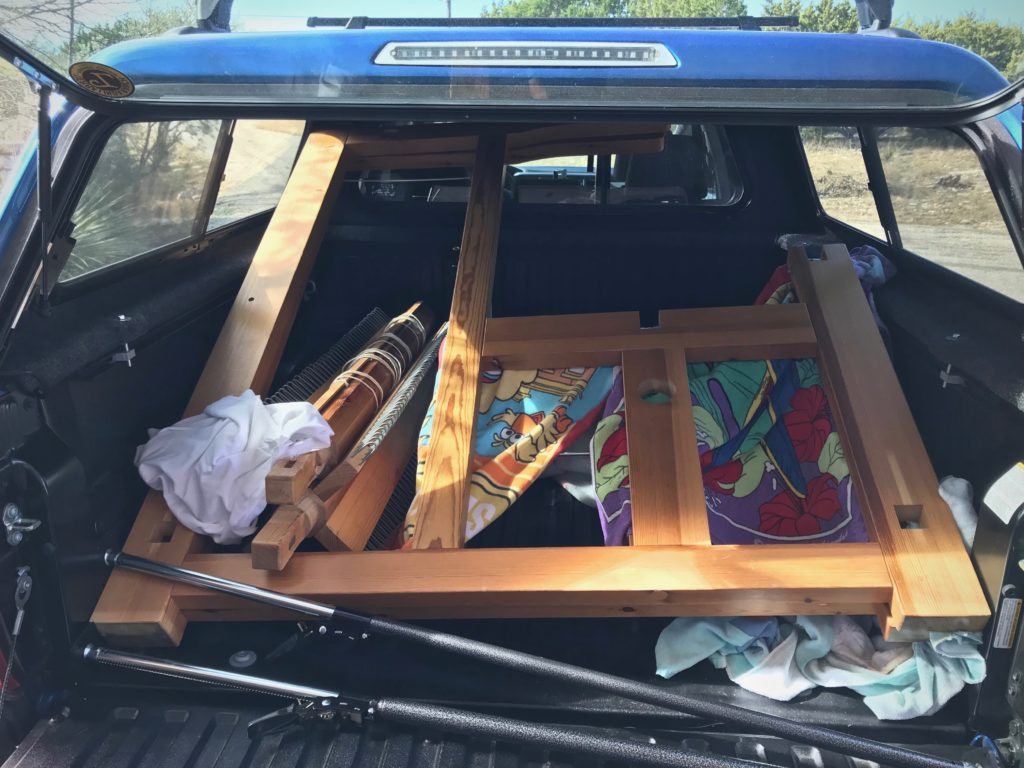 Bringing a loom home!