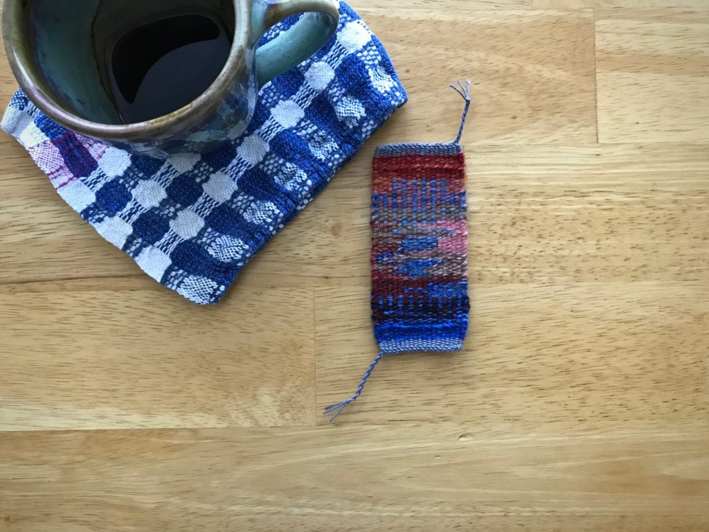 Tiny tapestry. Visual and tactile satisfaction.