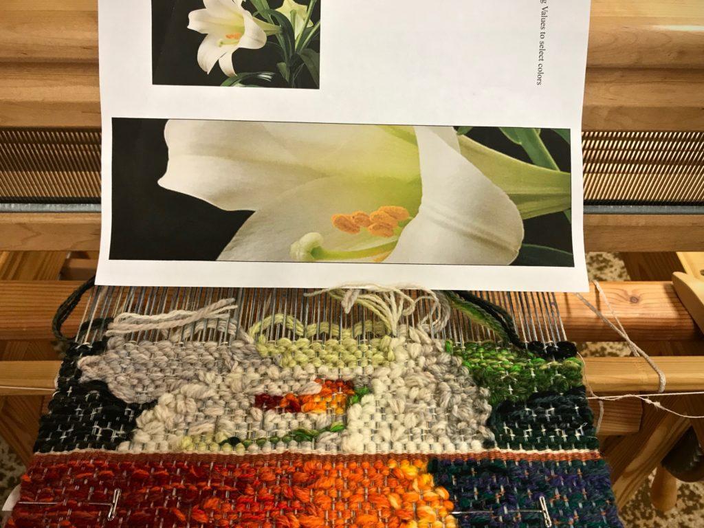 Tapestry progress.