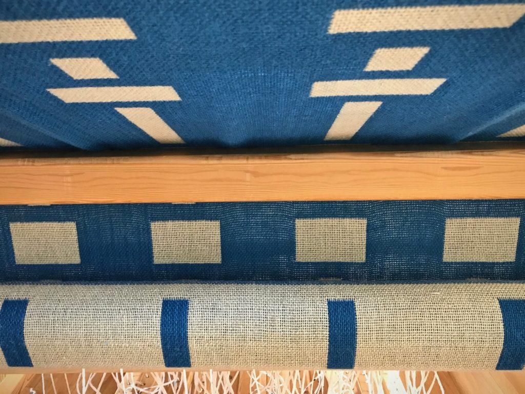 Double weave blanket. Fibonacci for design.