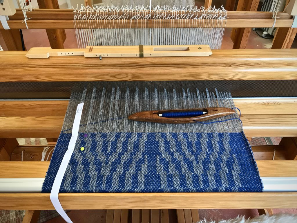 Drawloom, making garment fabric.