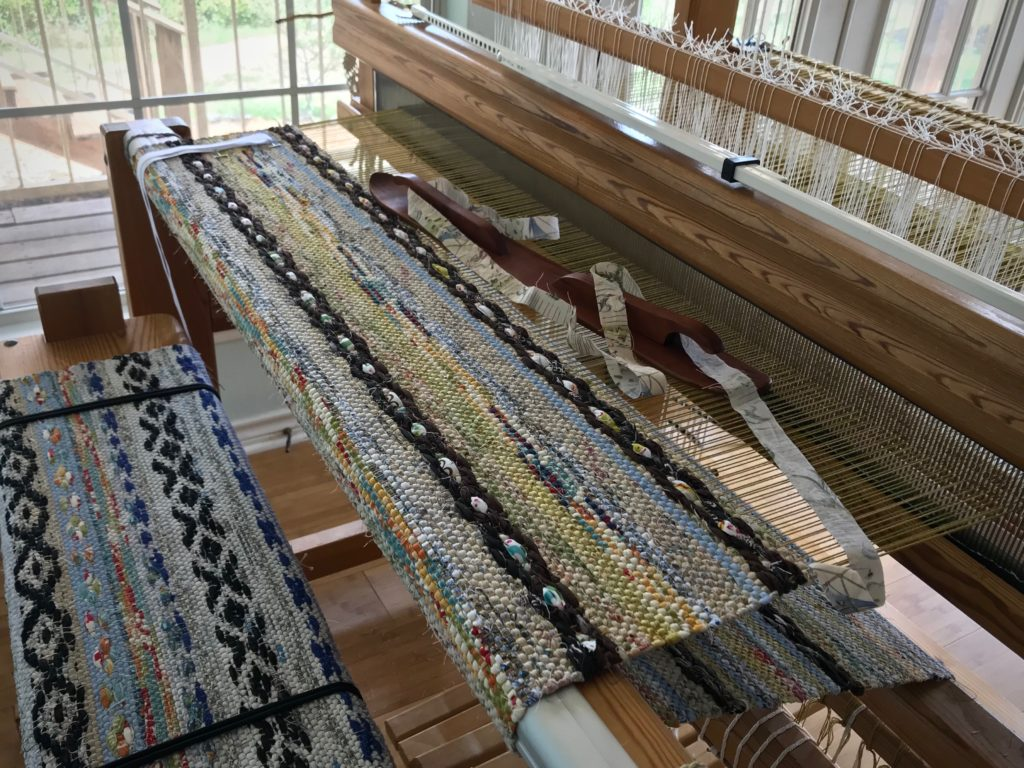 Glimakra Ideal loom--great tool for dreaming up rag rugs!