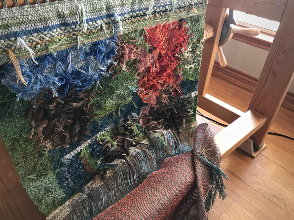 Cutting off a new tapestry!