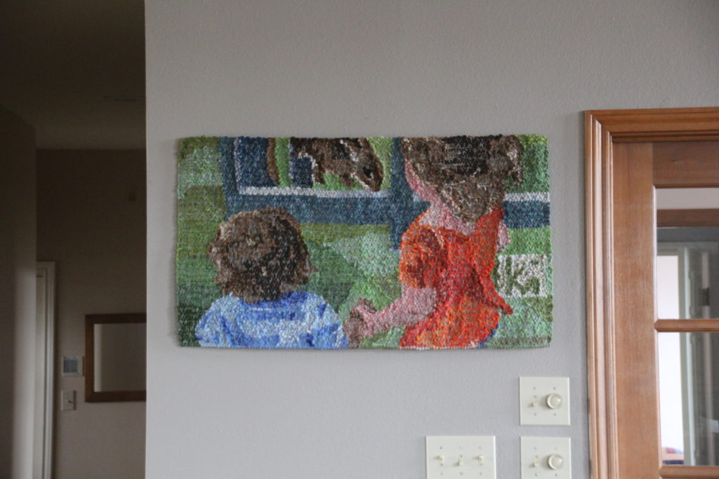 Siblings Tapestry by Karen Isenhower