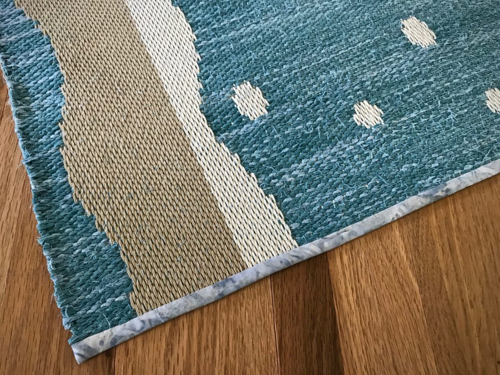 Drawloom rag rug finished!