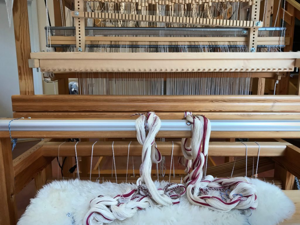 Checklist for winding a warp.