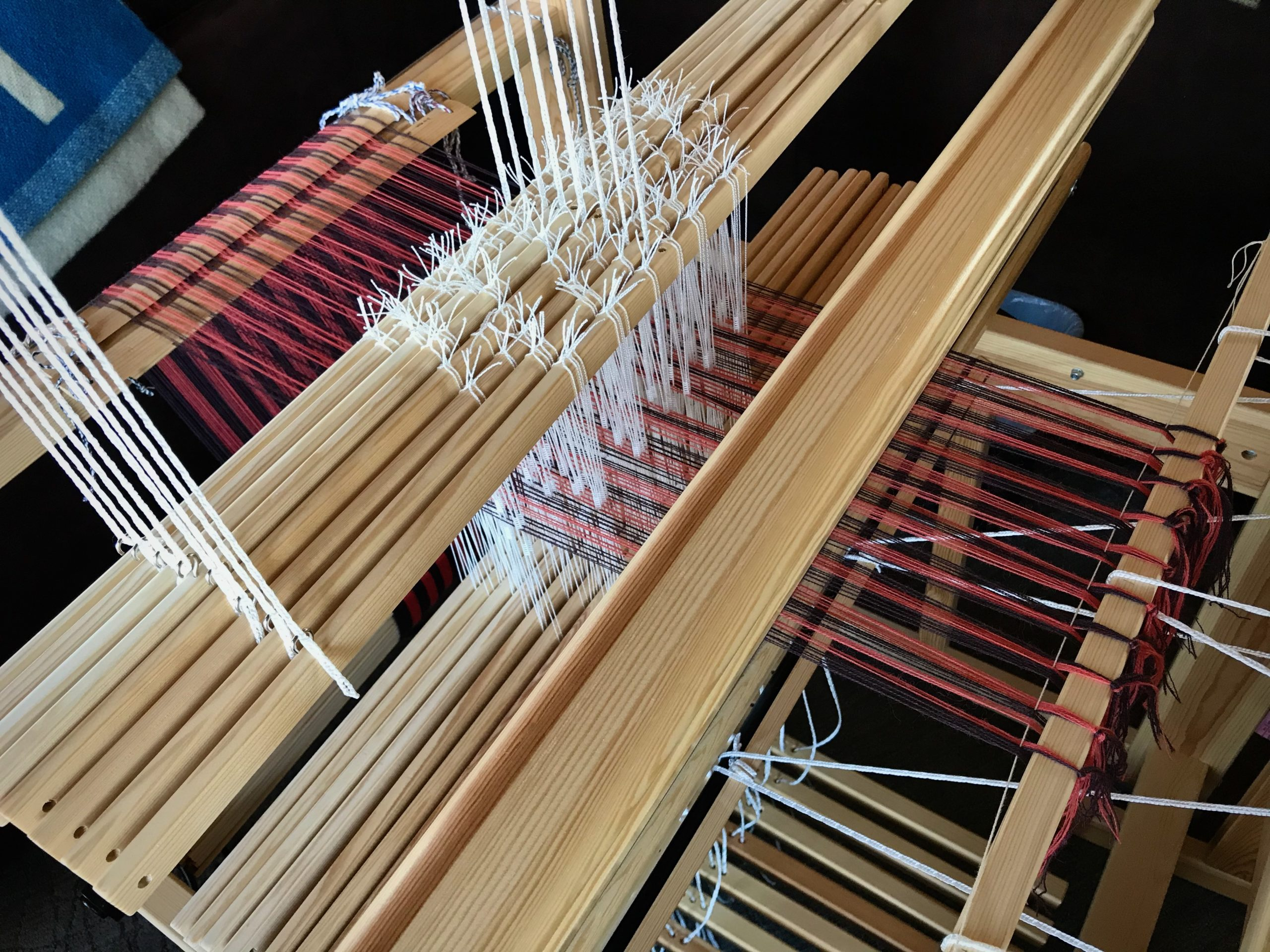 Glimakra Julia 8- shaft loom is ready to weave!