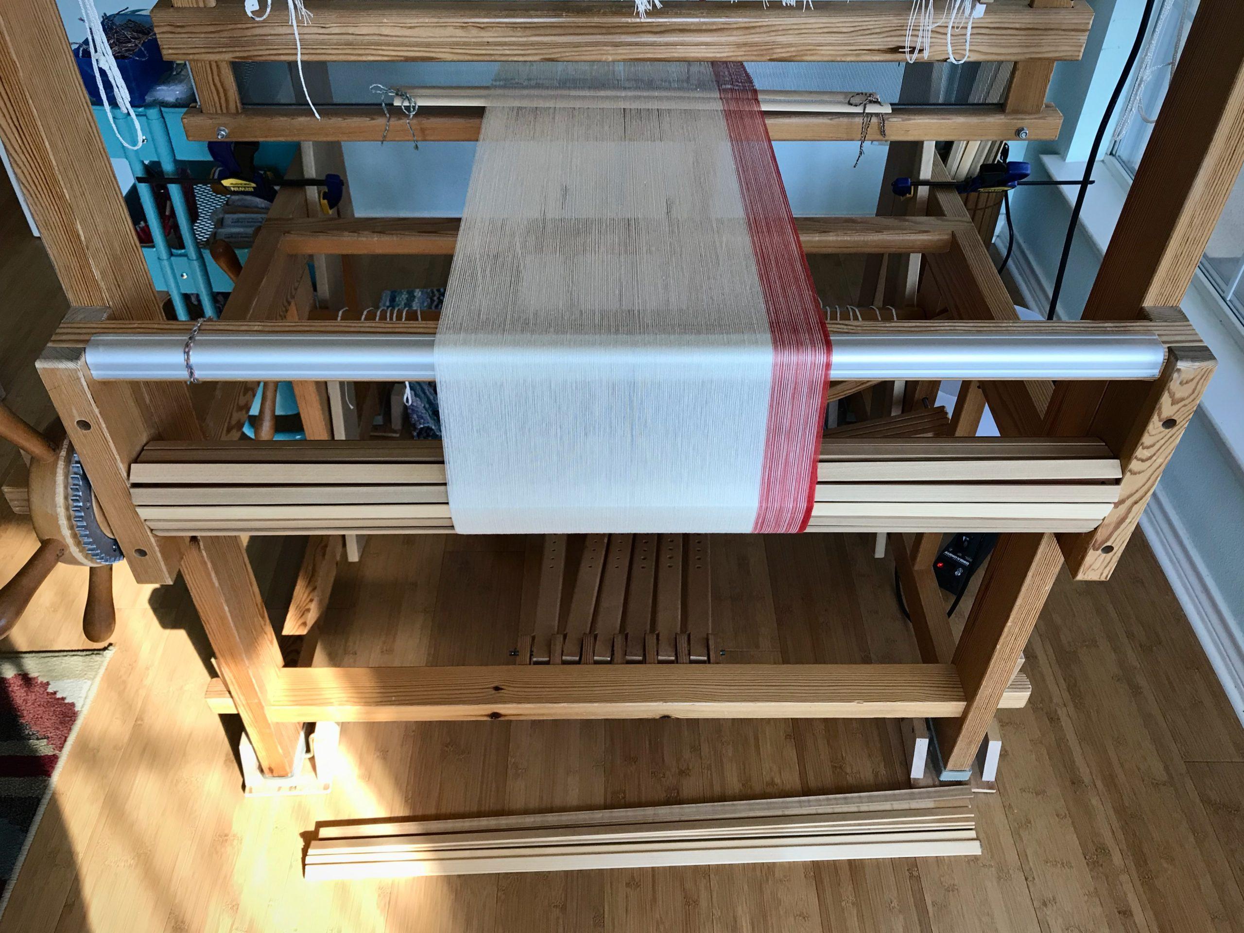 New 24/2 cotton warp.