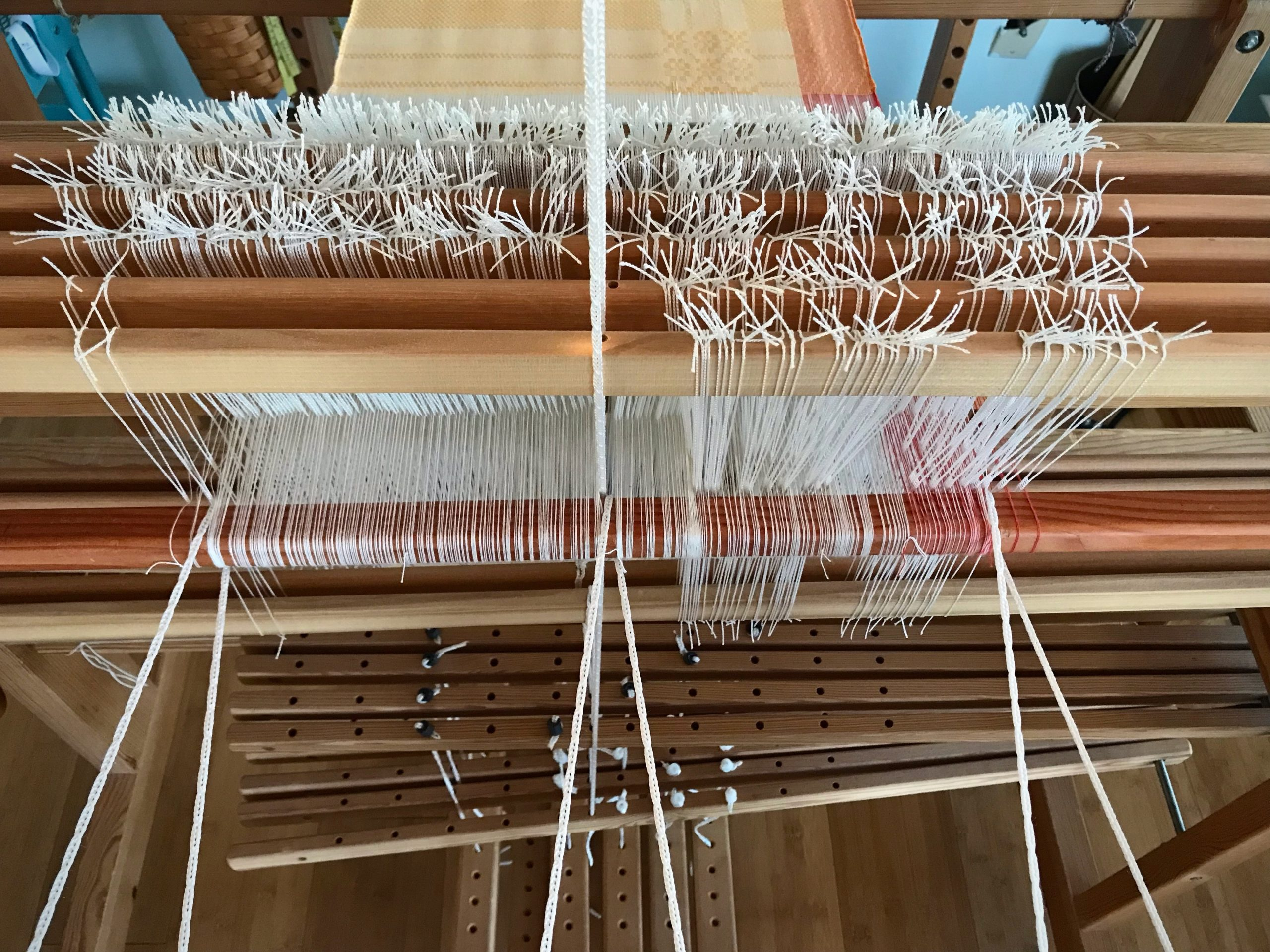 Weave until there's nothing left to weave!