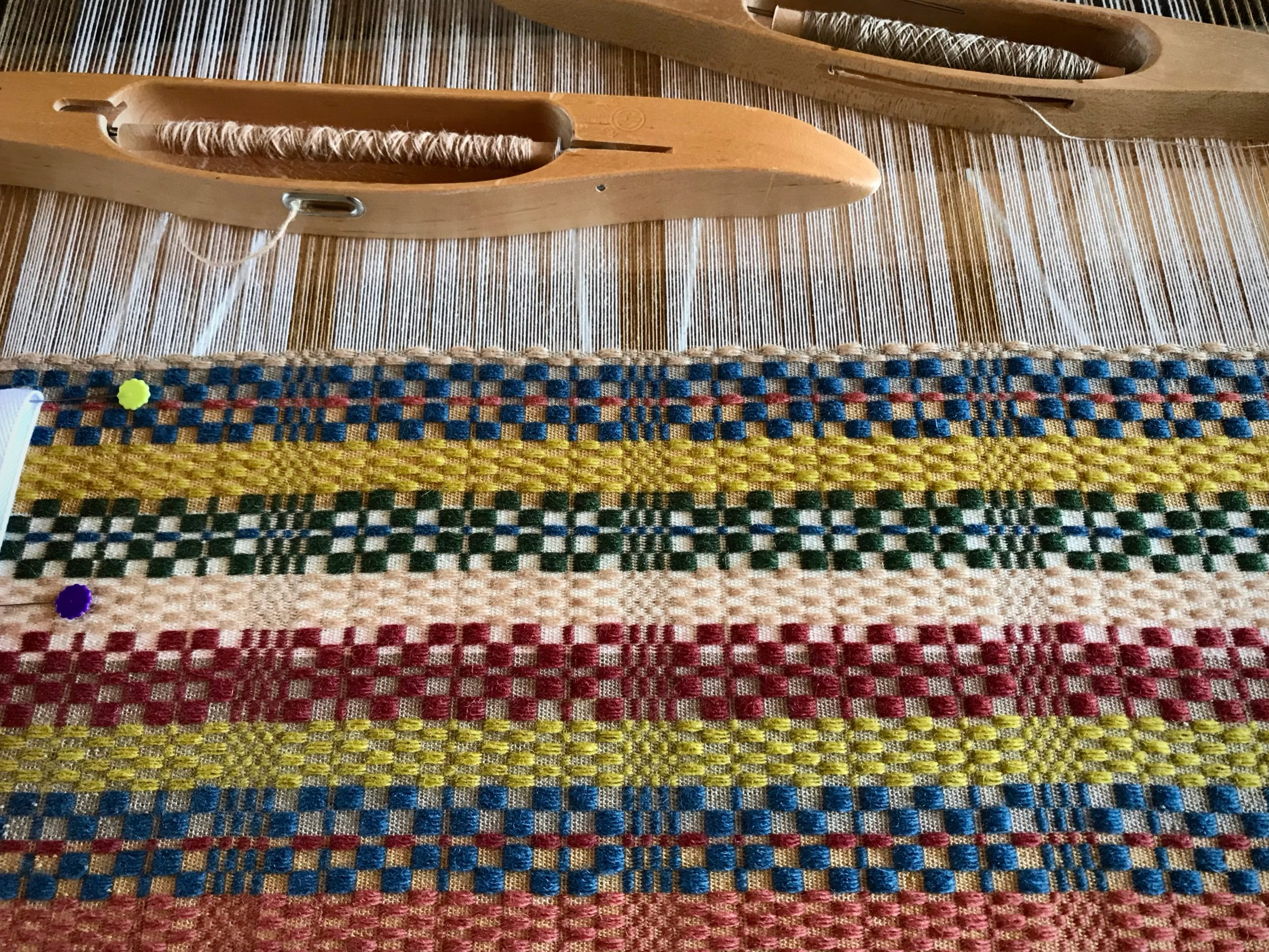 Weaving Swedish monksbelt is fun!