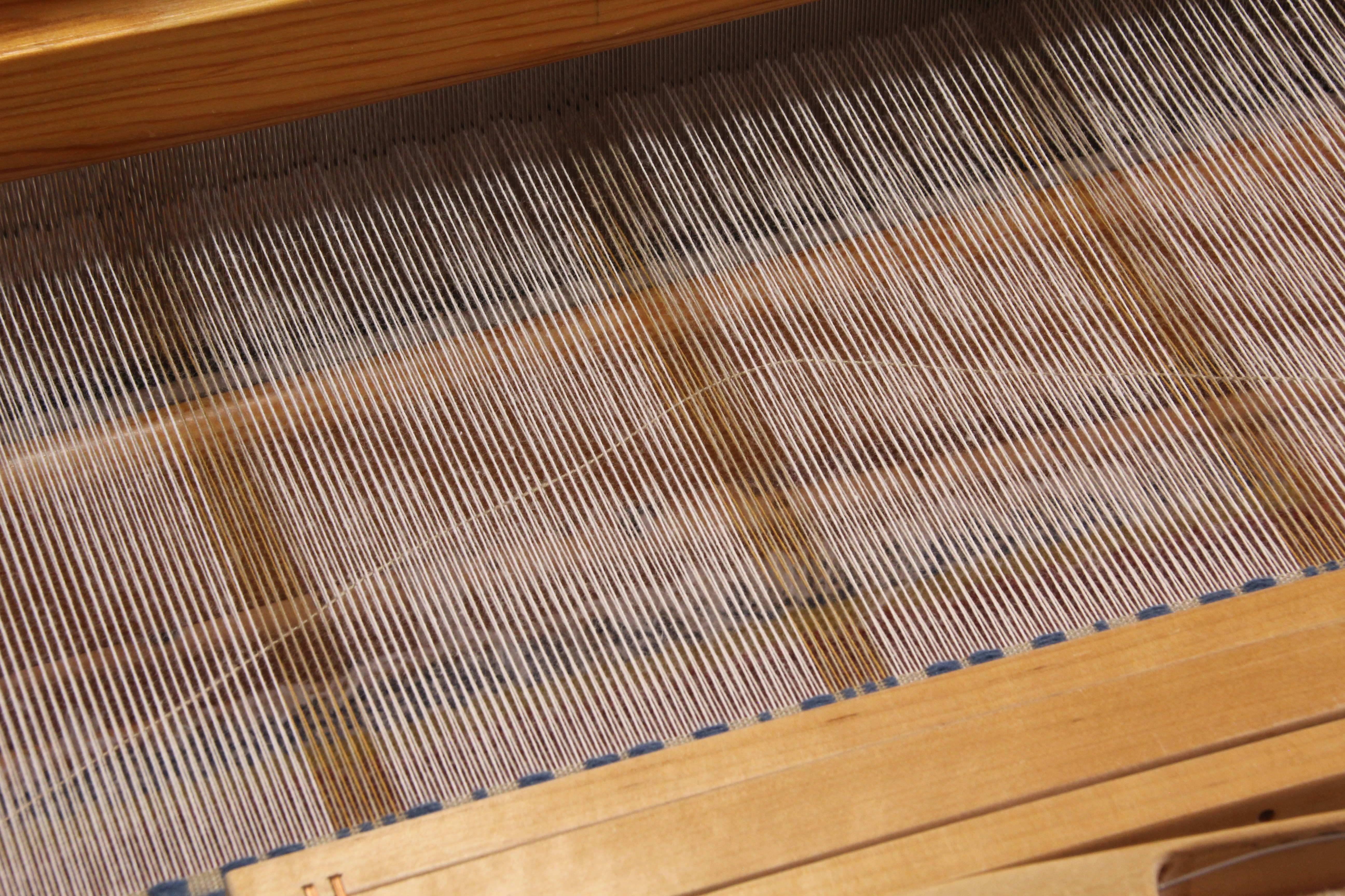 Weaving monksbelt with weft rep. How to.