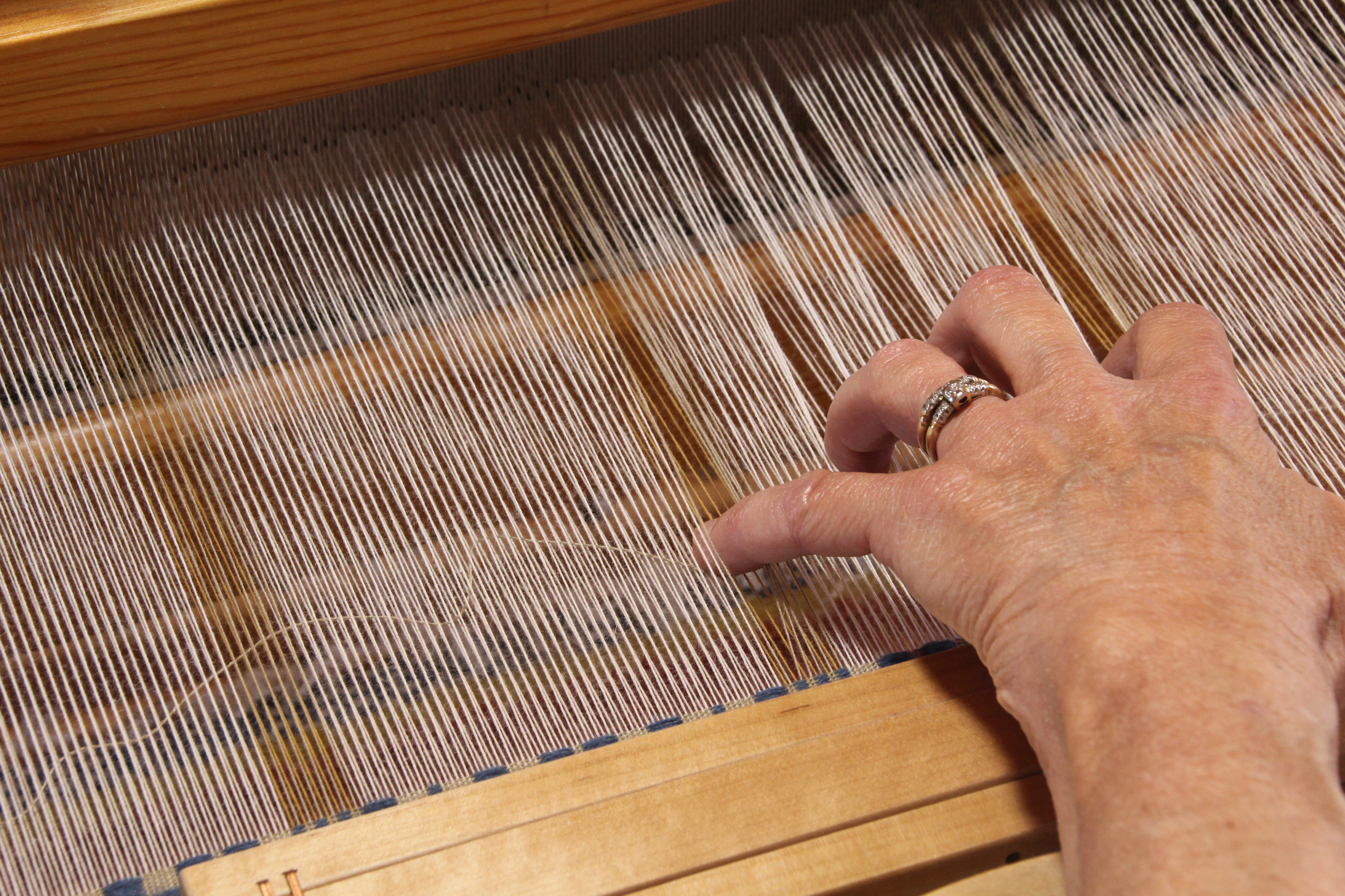 Weft rep how to.